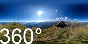 Die italienische Seite der Bergwelt des Nationalparks Stilfser Joch rund um den Ortler.