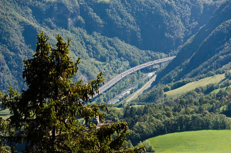 Brenner Autobahn Eisacktal