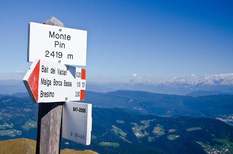 Gipfel Monte Pin 01