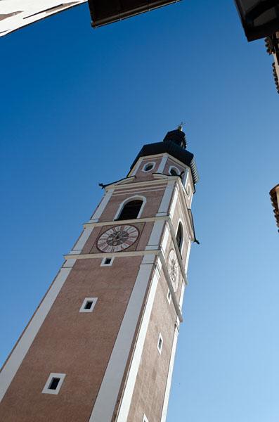 Kirchturm Kastelruth 01
