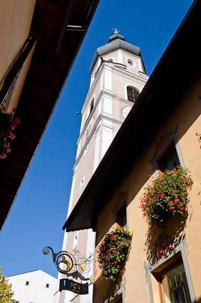 Kirchturm Kastelruth 03