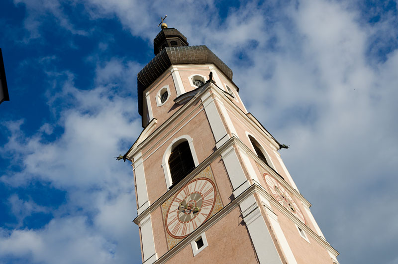 Kirchturm Kastelruth 06