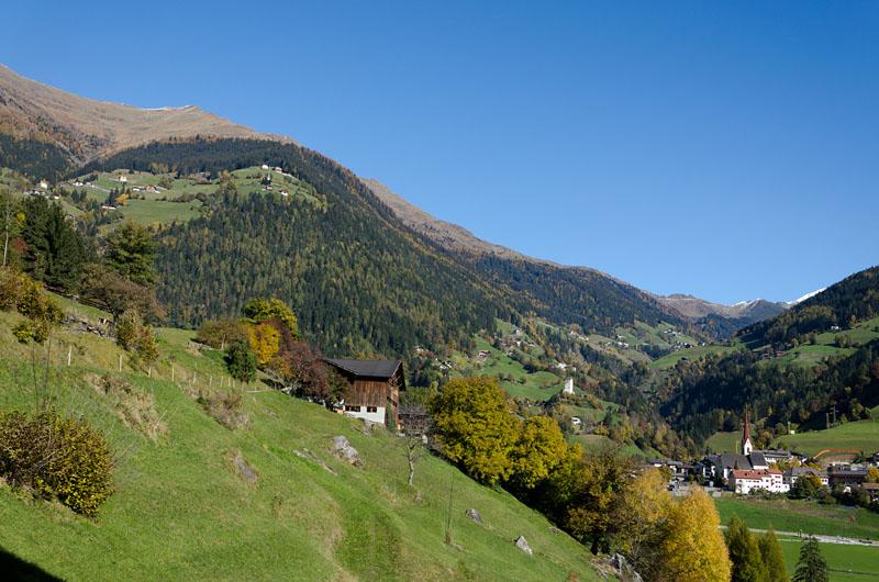 Herbstwanderung in St. Leonhard im Passeiertal