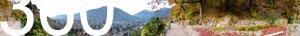 Blick auf Meran vom Tappeinerweg aus