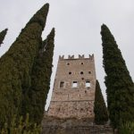 Hauptturm Burgruine Arco