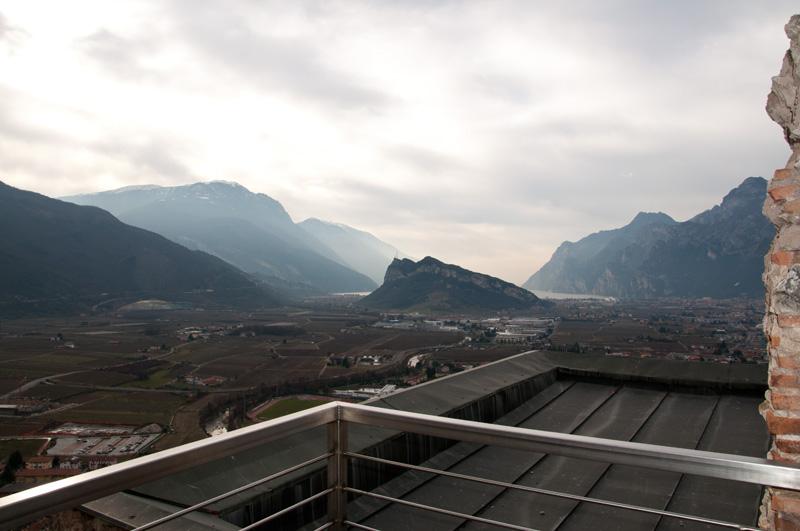 Blick auf Arco und Gardasee