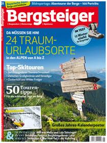 Bergsteiger Magazin für Bergsteiger, Wanderer, Kletterer und Alpinisten