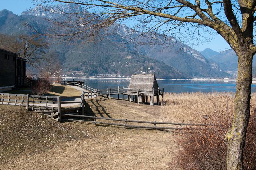 Pfahlbautenmuseum am Lago di Ledro