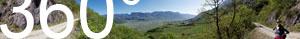 360° Blick über das Südtiroler Unterland