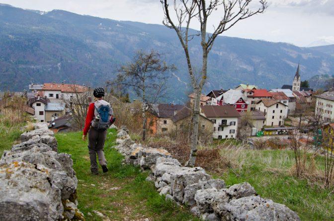 Zurück ins zimbrische Dorf Lusern