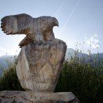 Geschnitzter Adler 01