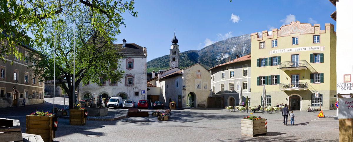 Dorfplatz Glurns