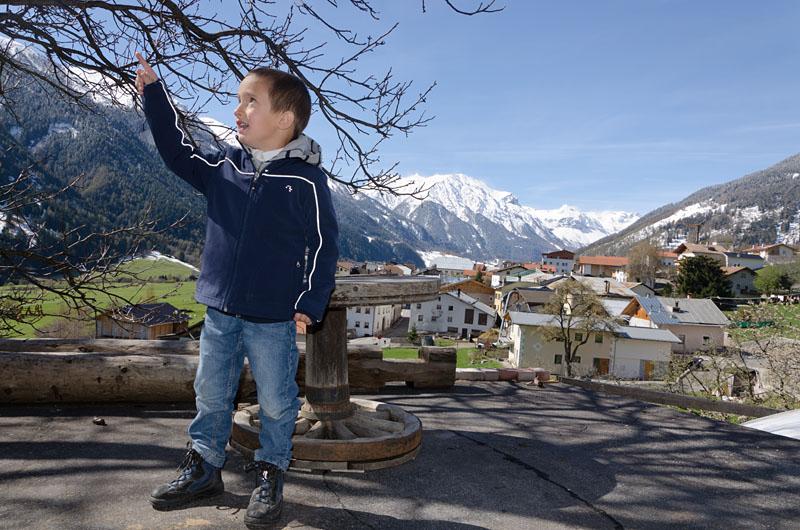 Von Taufers im Münstertal im Vinschgau nach Glurns