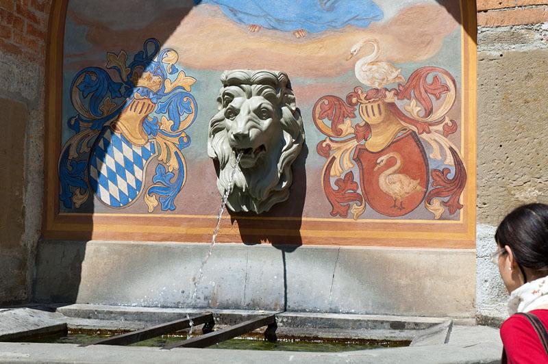 Brunnen Schloss Hohenschwangau