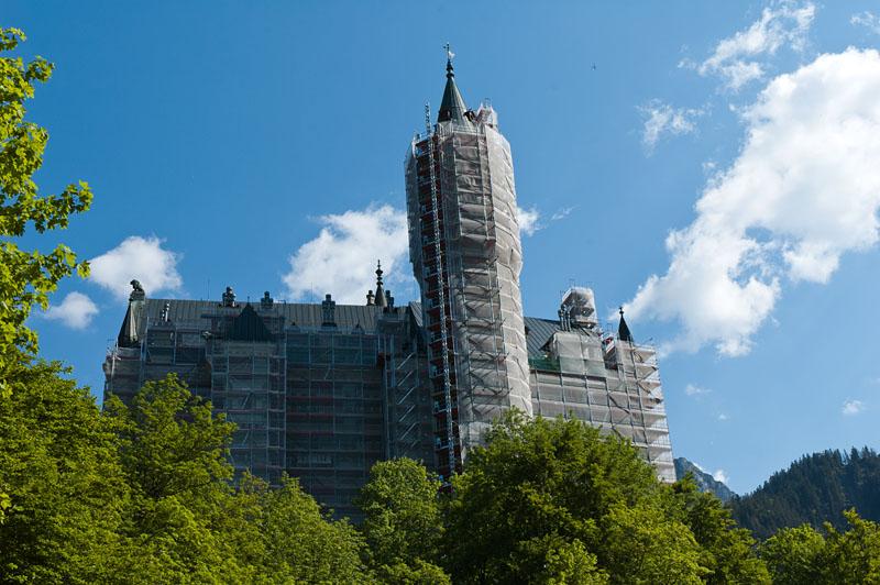 Renovierung Schloss Neuschwanstein