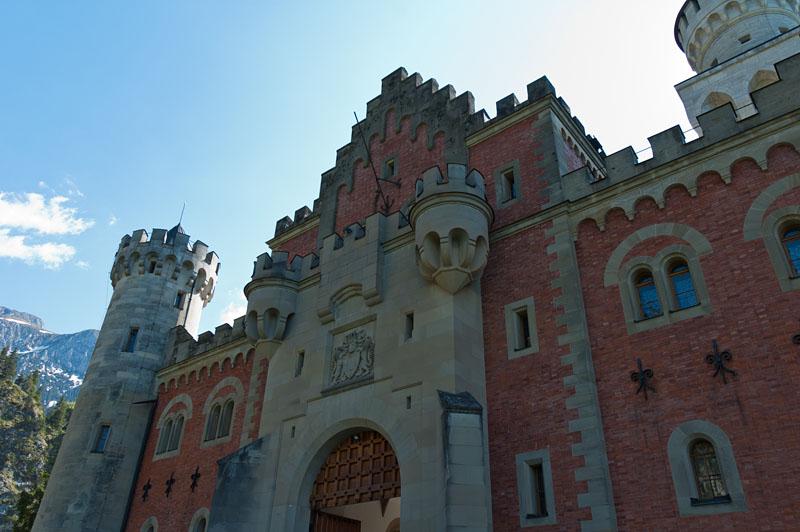 Eingang Schloss Neuschwanstein