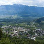 Blick auf Auer im Südtiroler Unterland