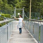 Hängebrücke in Auer Schwarzenbach