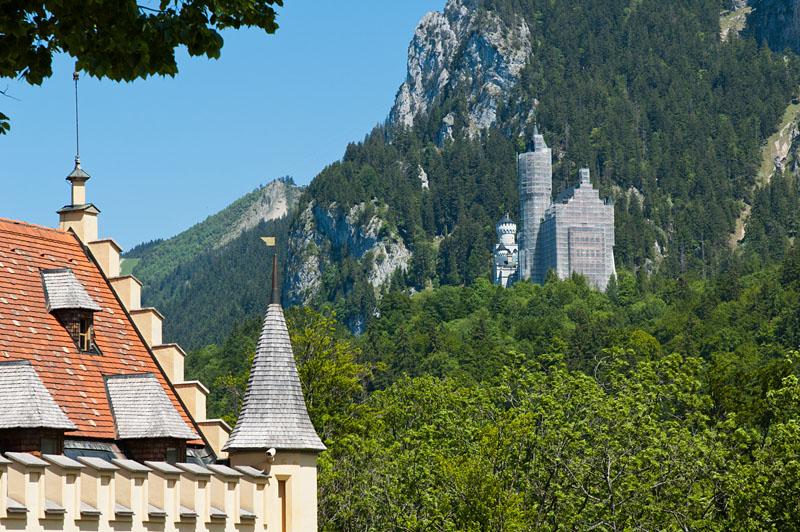 Schloss Hochschwangau und Schloss Neuschwanstein