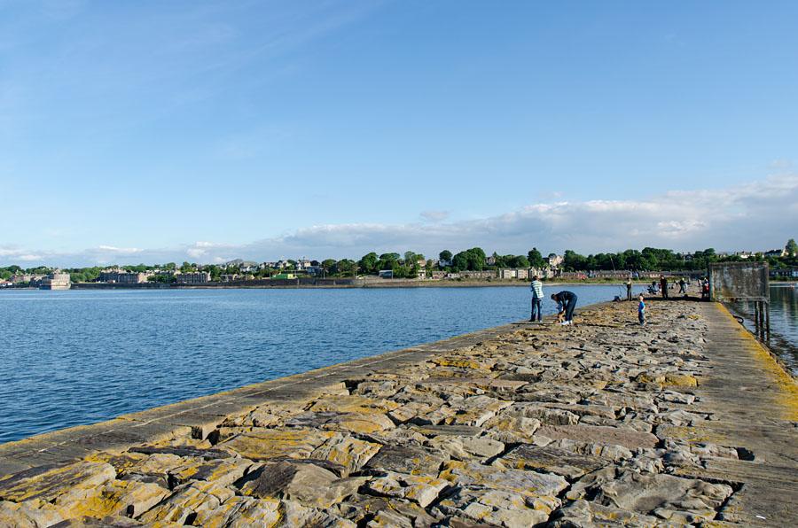 Mündung Fluss Forth oder Ostsee das ist hier die Frage...
