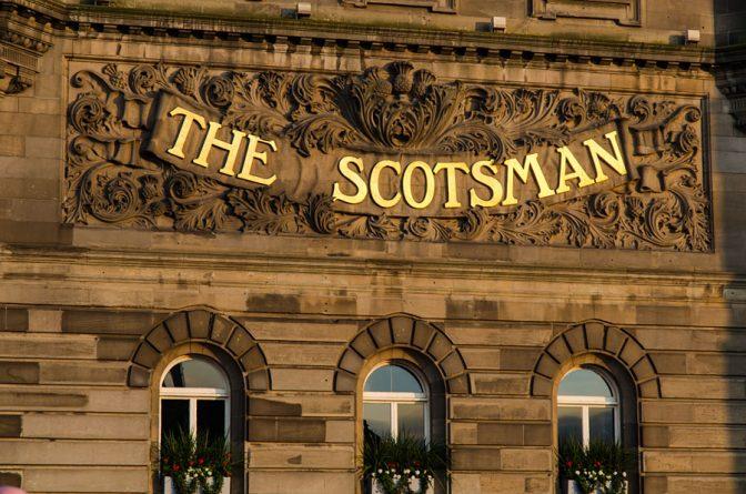 Erster Tag in Edinburgh-Schottland