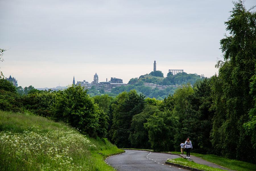 Holyrood Park Edinburgh Schottland