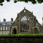 Palace of Holyroodhouse Edinburgh Schottland