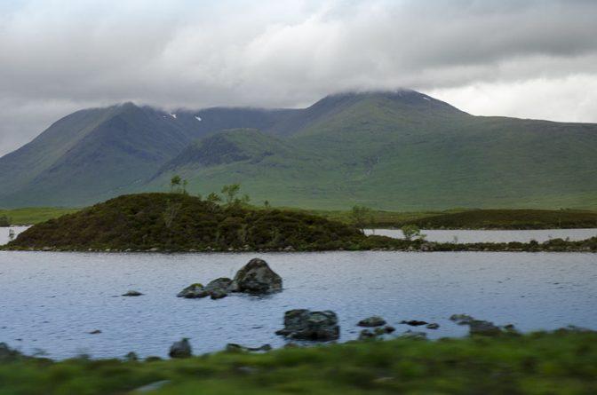 """Nicht lake, sondern """"loch"""" nennt man in Schottland bzw. in den Highlands einen See"""