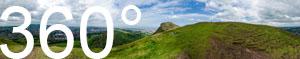 Blick auf die Hauptstadt Schottlands: Edinburgh