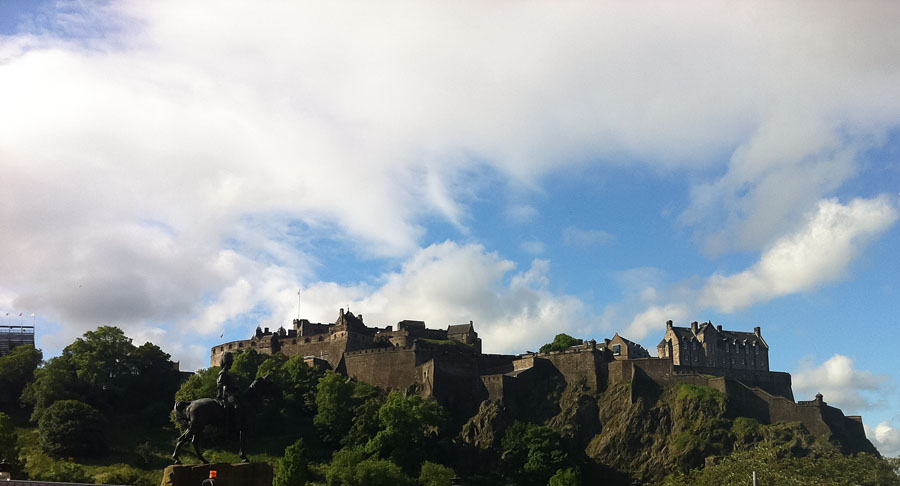 Edinburgh Castle -Schottland