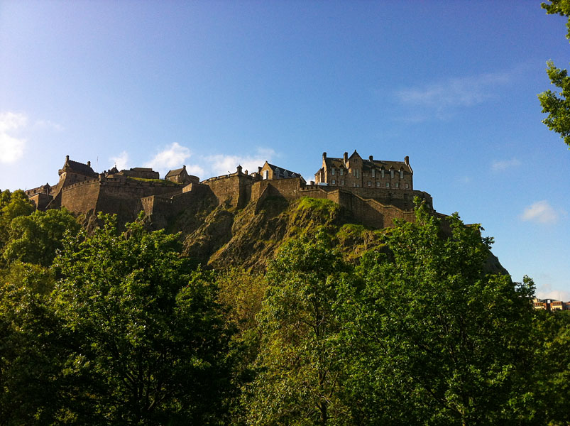 Edinburgh Castle - Schottland
