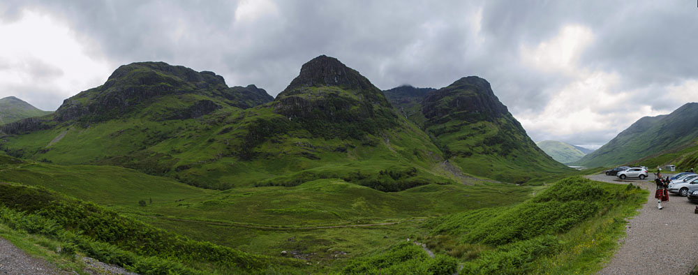 Three Sisters Schottland Highlands