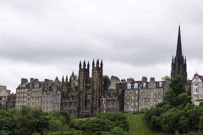 In der Stadt Edinburgh