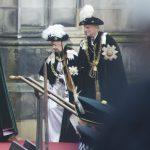 Die Queen in Edinburgh