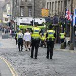 Polizei in Edinburgh