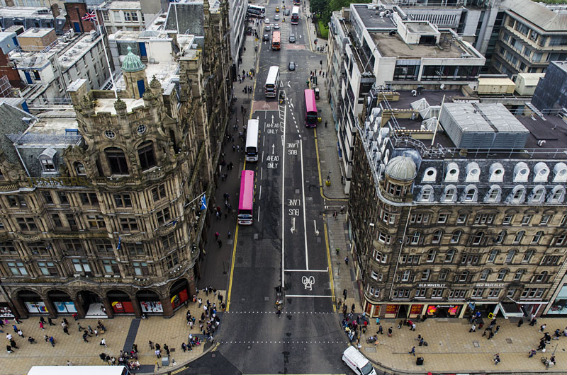 Princes Street Edinburgh