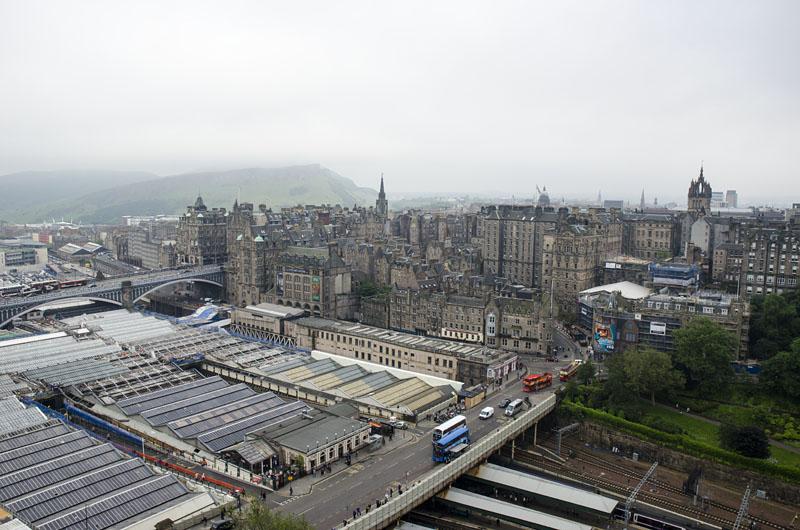 Zugbahnhof Edinburgh
