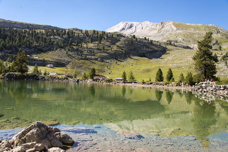 Lè Vert See auf der Fanes Alm