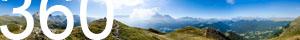 Blick vom Südhang des Pic zum Langkofel