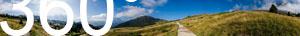 Von der Cisles Alm in Gröden hat meinen einen fantastischen Ausblick auf die Dolomiten