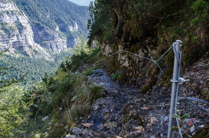 Sentiero attrezzato Celeste Donini