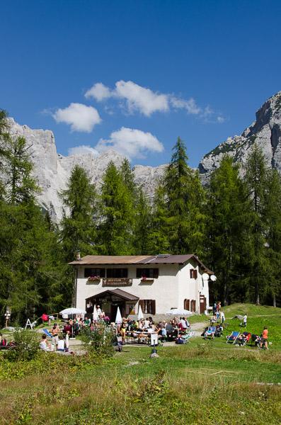 Schutzhütte Selvata den Brenta Dolomiten