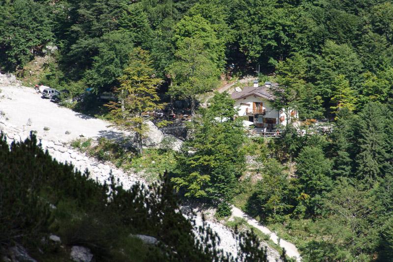 Schutzhütte Croz dell'Altissimo