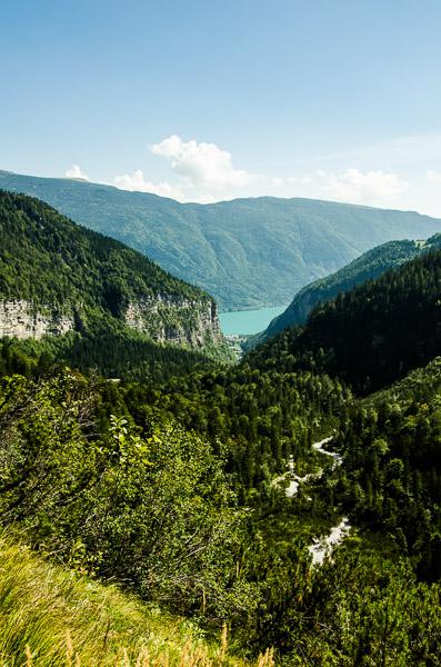 Valle delle Seghe über Molveno