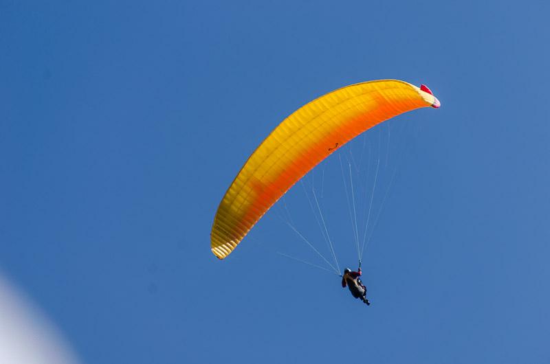 Paraglider - Gleitschirmfliegen