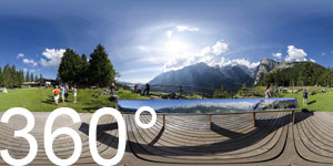 Fantastischer Ausblick auf die Brenta Gipfel