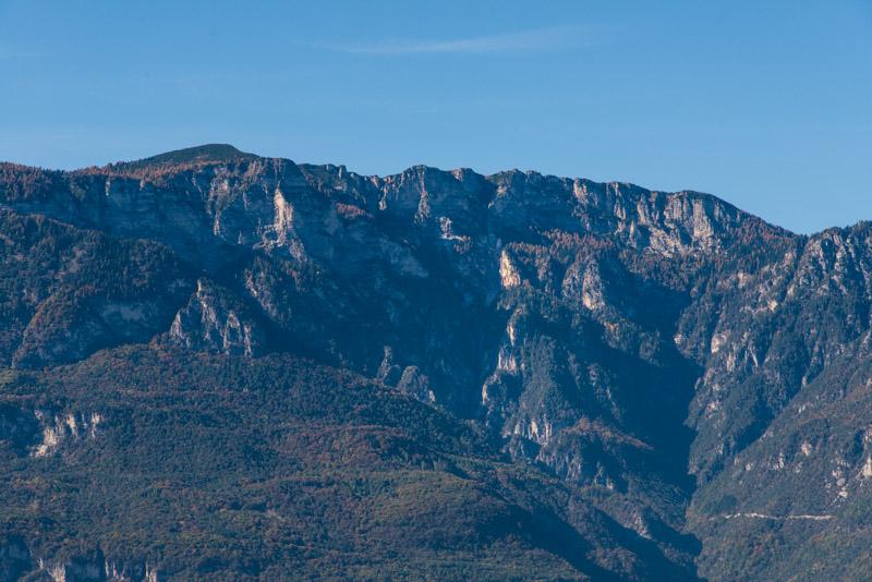 Mendelgebirge mit Schwarzen Kopf und Roen
