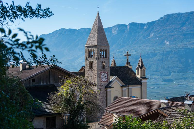 Kirche von Montan