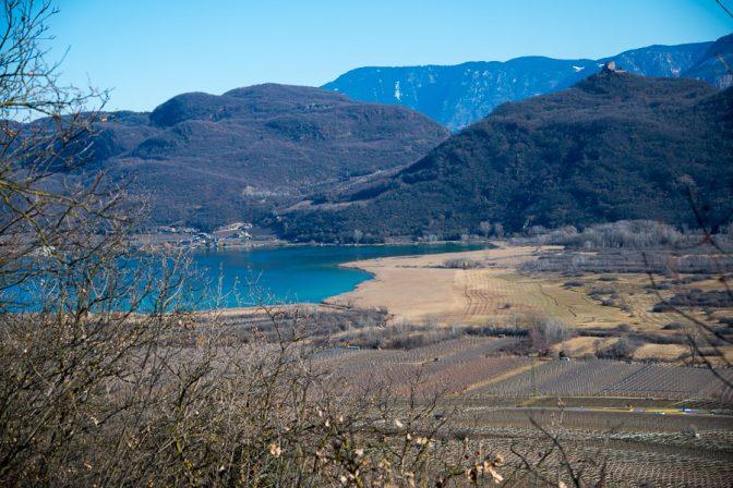 Der Kalterer See ist immer wieder einen Spaziergang oder eine Rundwanderung wert.