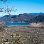 Kalterer See mit Leuchtenburg
